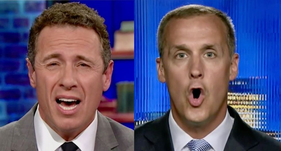 Cuomo interview with Lewandowski goes off the rails after CNN host calls everyone at White House 'liars'
