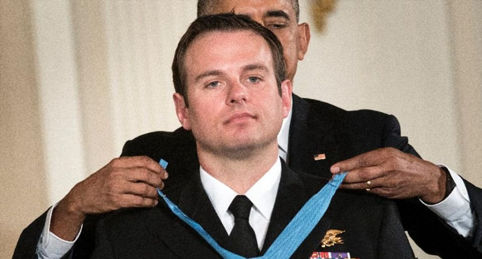 Navy SEAL awarded Medal of Honor for Afghanistan raid