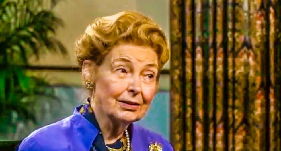 Right-wing scold Phyllis Schlafly wants baseball to look like it did in 1944: 'American players are better'