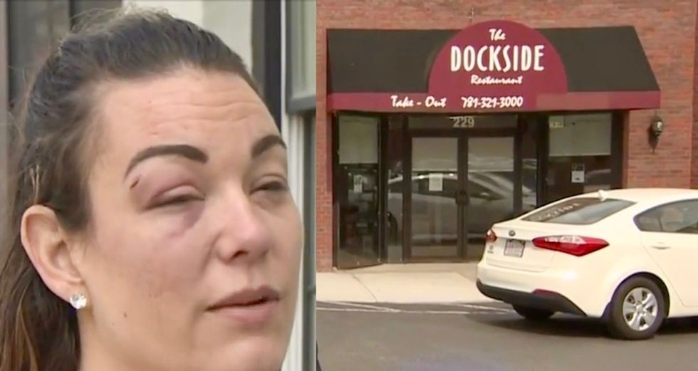 Boston lesbian couple assaulted at bar by raging man screaming homophobic slurs: 'He beat us both to a pulp'