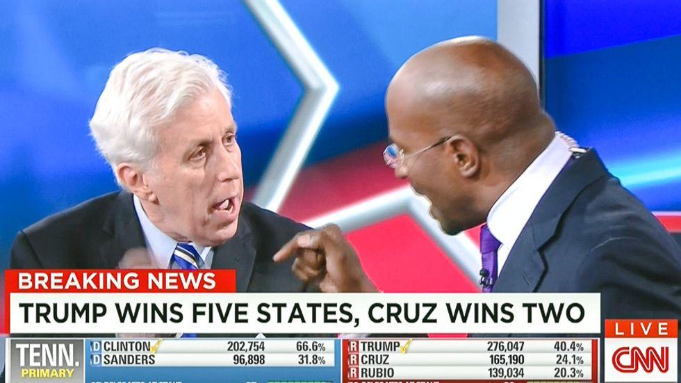 Van Jones brings CNN election night to screeching halt with awesome takedown of Trump's KKK 'games'