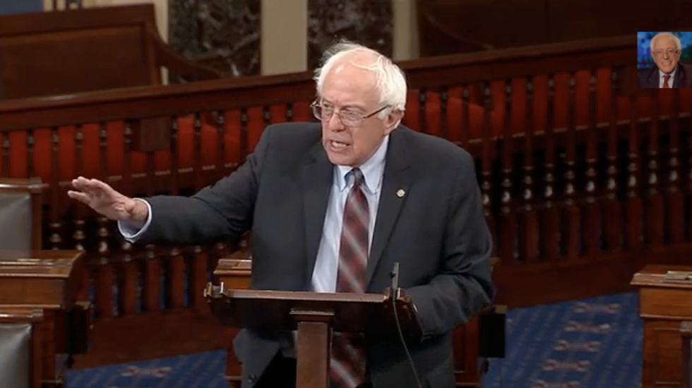 Bernie Sanders: If Democrats cave on Obamacare, GOP will use blackmail tactics again