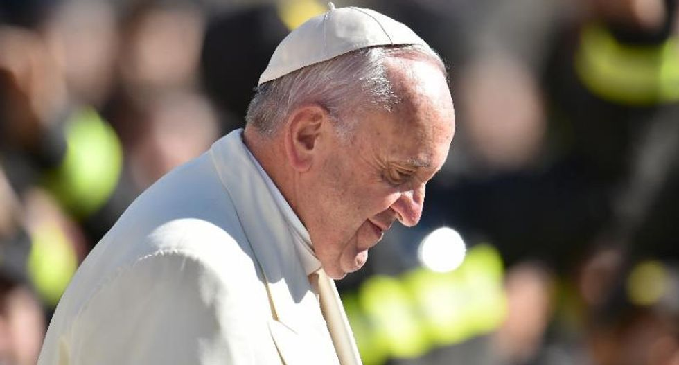 'We don't want your dirty money', pope tells rich patrons