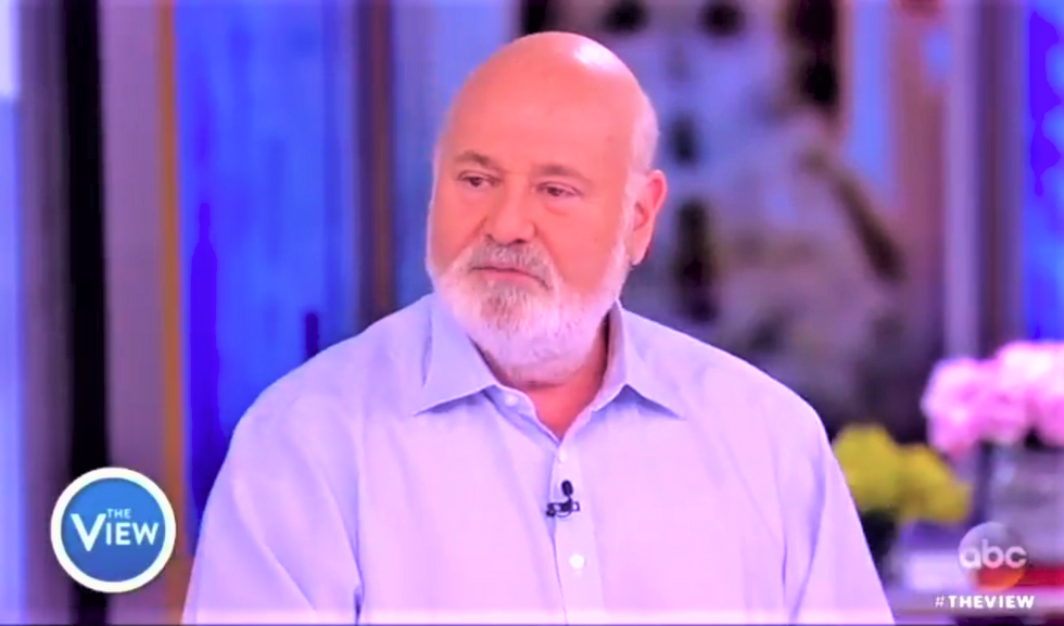 Rob Reiner tells 'The View' that Trump has 'oligarch envy' -- and the media isn't taking the threat seriously