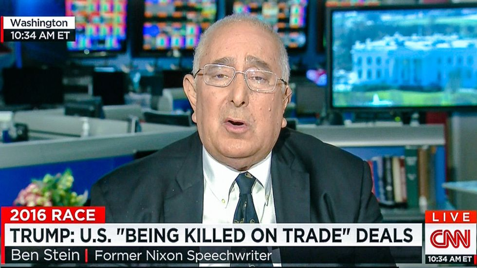 'I've never voted for a Democrat': Ben Stein flips support to Hillary and Bernie because of Trump