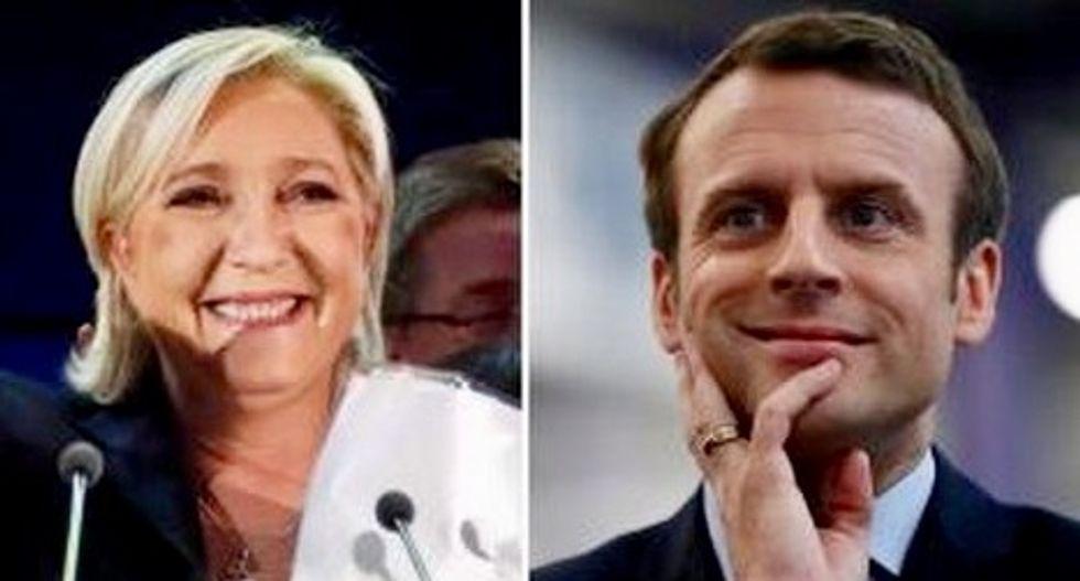 Le Pen upstages frontrunner Macron in surprise visit
