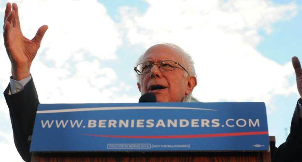 Bernie Sanders called Hillary Clinton 'unqualified' to be president -- and blew up his own campaign