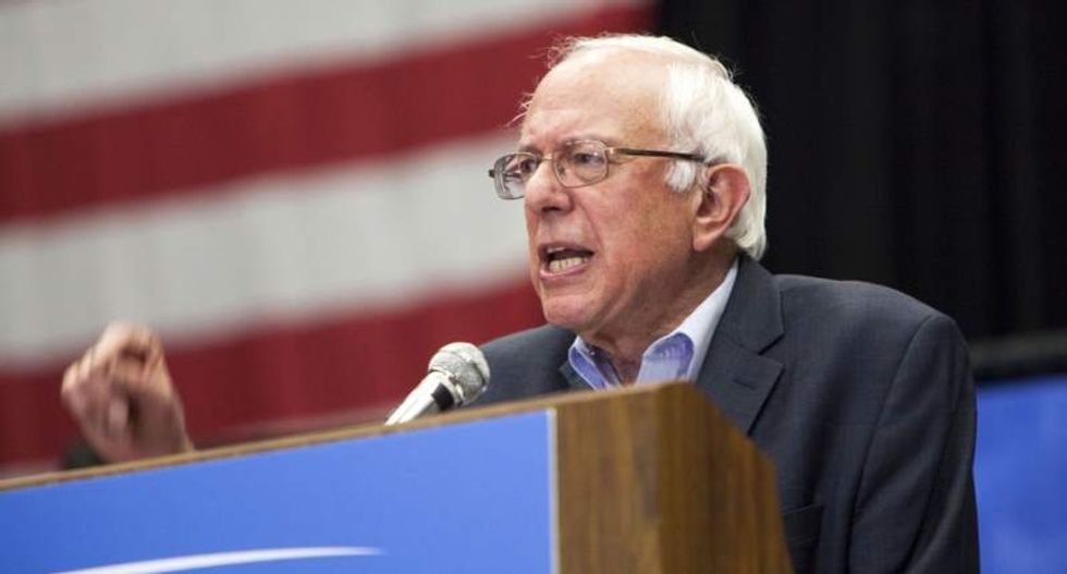 Bernie Sanders rips Trump's speech from home: 'Is this guy running for president or dictator?'