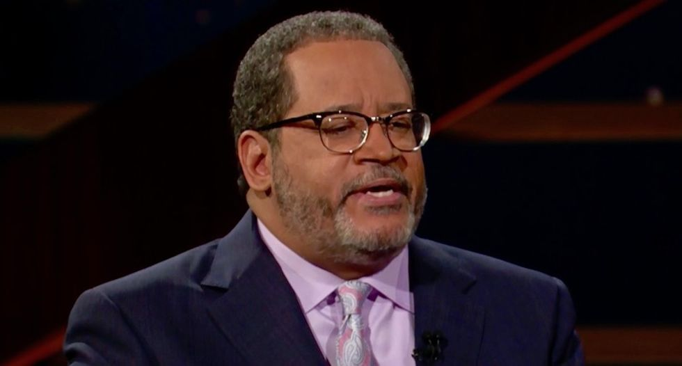 'Instead of pardoning some dead black people why not pardon some here now?' Watch Michael Eric Dyson throw down Real Time with Bill Maher