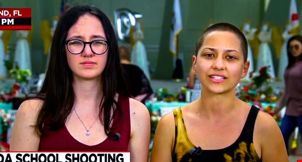 Parkland's Emma Gonzales schools Trump for lack of Twitter maturity: 'The best thing for us to do is ignore him'