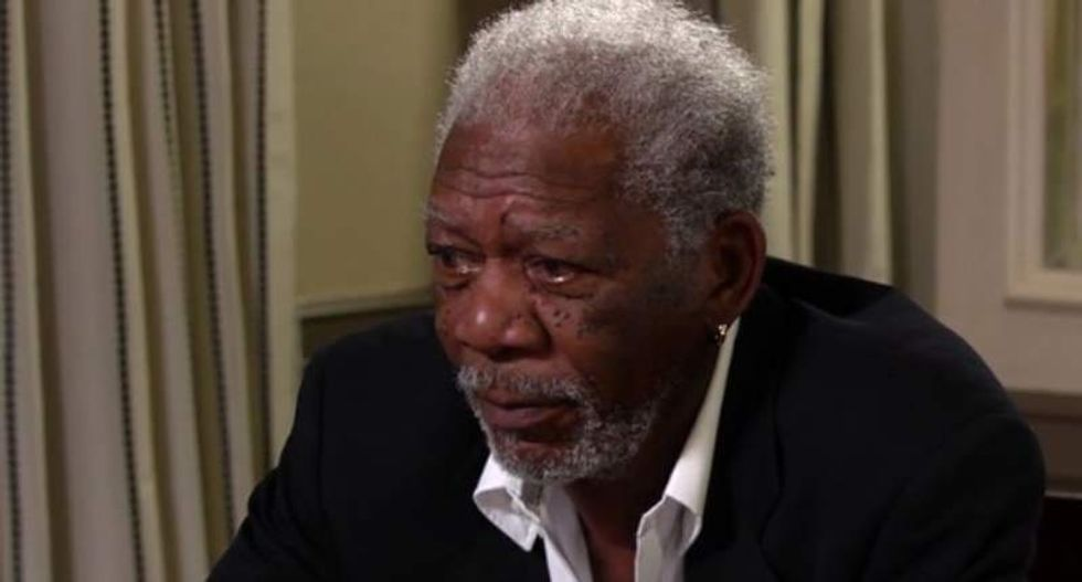 Morgan Freeman on legalizing pot: They can't call it dangerous when it's safer than alcohol