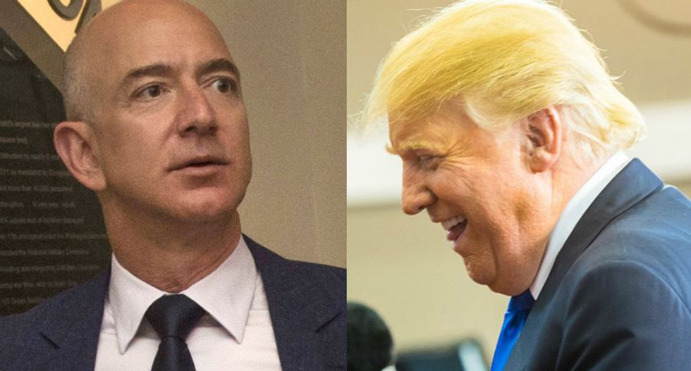 Trump panel wants to give USPS right to hike prices for Amazon as president's battle with Jeff Bezos continues