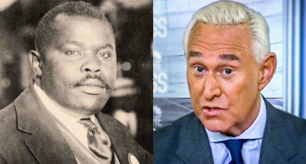 Roger Stone wants Trump to pardon an iconic Black Nationalist — but his family has no idea who Stone is