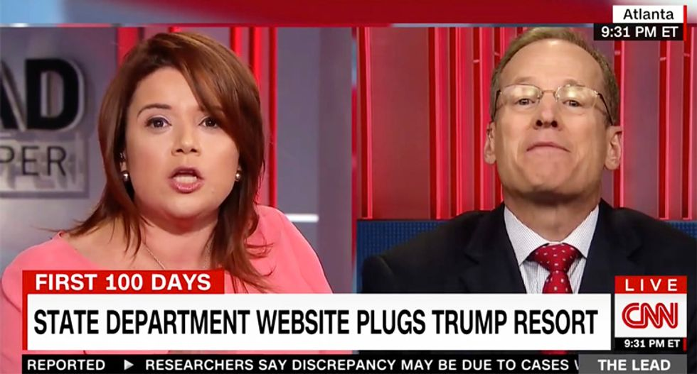 CNN panel goes off the rails as Trump booster blames State Department plug for Mar-a-Lago on Obama