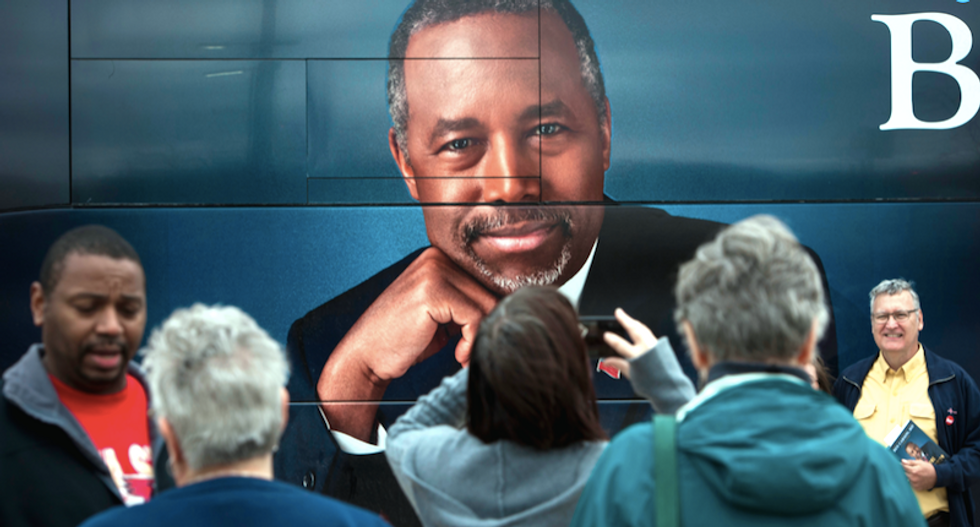 Carson signals exit -- but Koch brothers won't help 'bed-wetting' Republican stop Trump