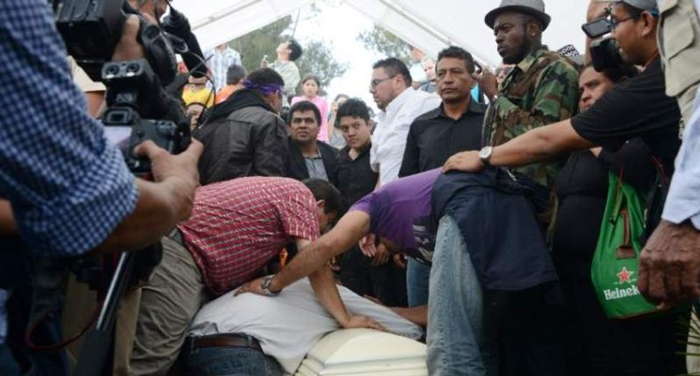 Thousands attend funeral for slain Honduran environmentalist Berta Caceres