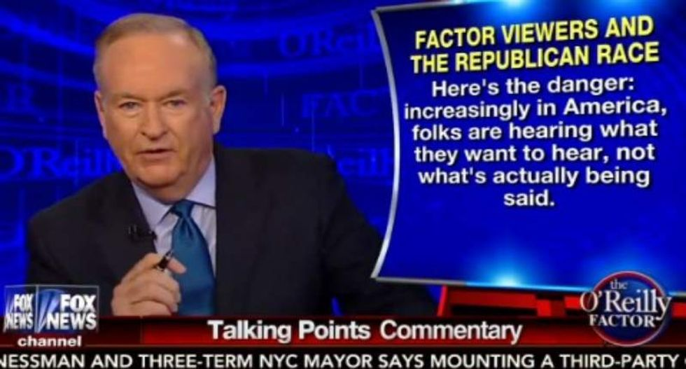 Bill O'Reilly rejects viewer complaints about Trump debate interview: I 'keep it all real and fair'