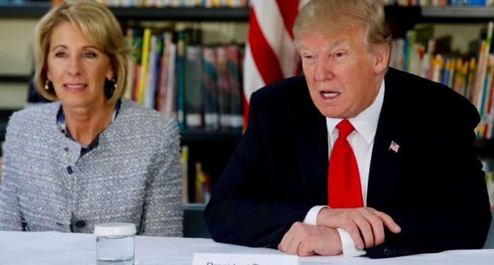Revealed: White House officials 'watched in dismay' as Betsy DeVos went down in flames on '60 Minutes'