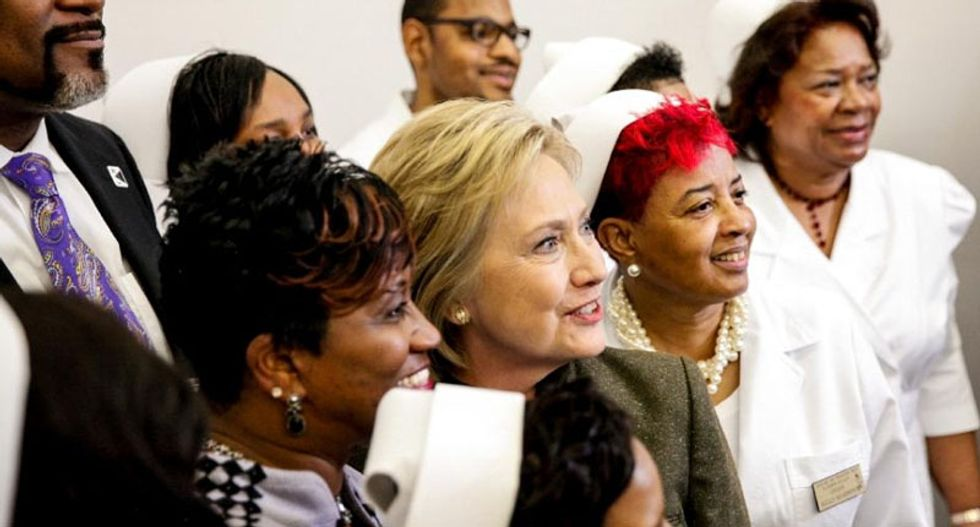 How Hillary Clinton cornered the black vote