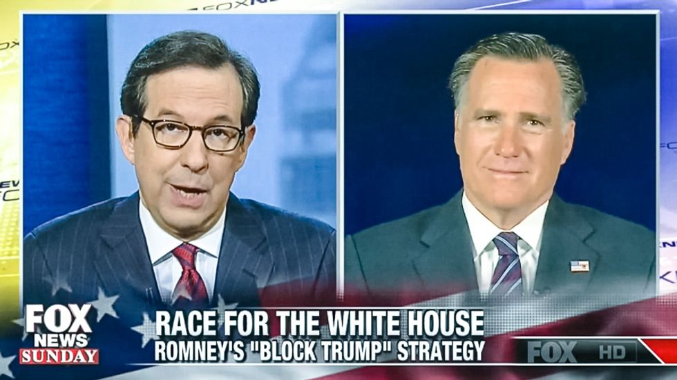 Fox's Chris Wallace grills Romney: Is Trump your fault for 'legitimizing' his birther campaign in 2012?