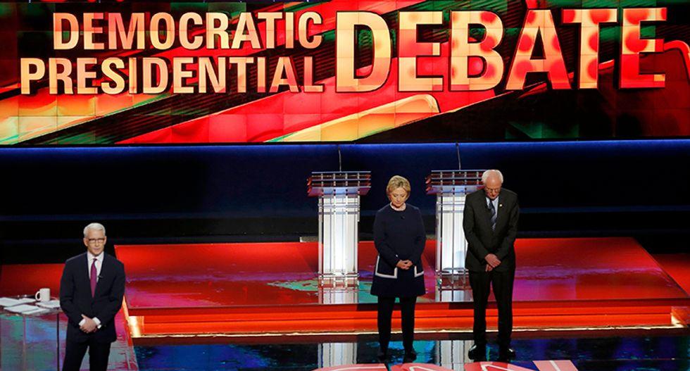 Clinton, Sanders clash over trade and auto bailout in Michigan debate