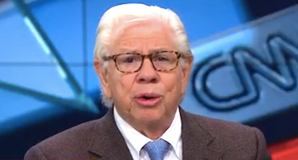 'Oh my god, there's a cover-up going on': Carl Bernstein accuses Trump of 'impeding' Russia probe