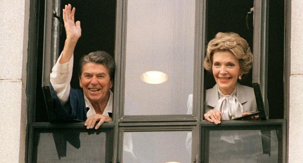 World reacts to death of Nancy Reagan