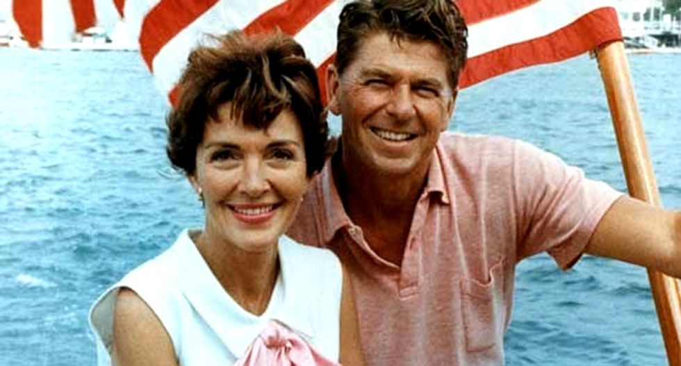 Reagans' personal items to be auctioned in New York
