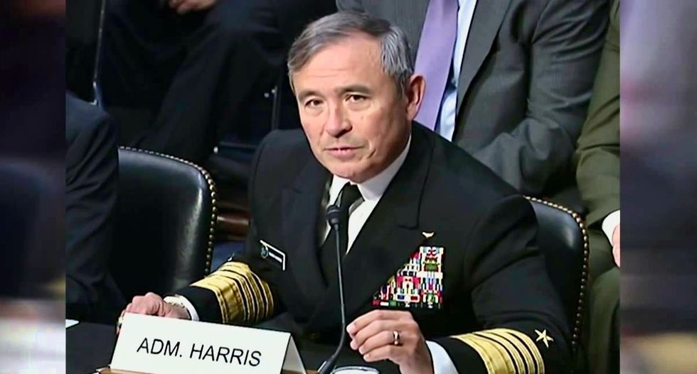 'All on me:' US admiral takes blame in carrier to N.Korea fiasco