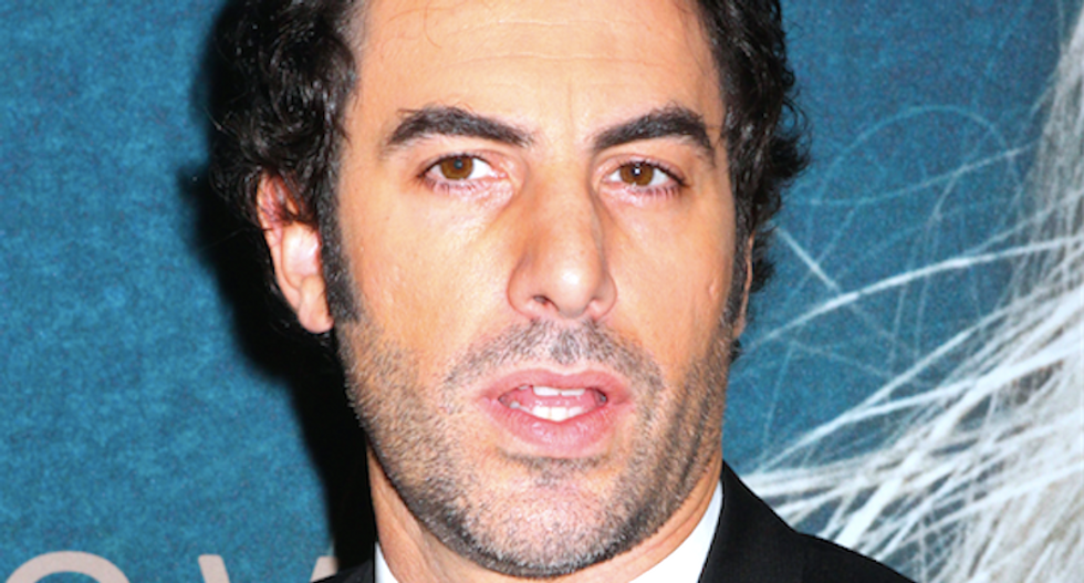 Trump gets AIDS in new Sacha Baron Cohen film — and audiences are standing up and cheering