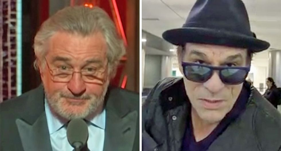 'It was disgusting what you did Mr. De Niro': Trump-loving Goonies villain demands 'decorum'