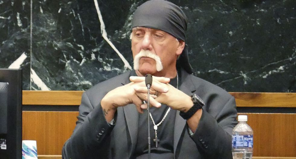 Hulk Hogan says he is still reeling from sex tape at Gawker trial in Florida
