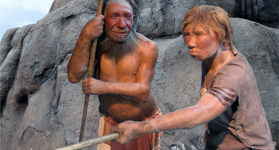 Neanderthals built mysterious cave structures 175,000 years ago -- and no one knows why