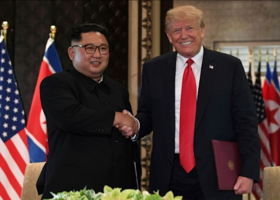 Trump says letter from Kim Jong un wished him happy birthday