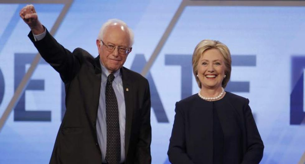 Sanders and Clinton spar over immigration reform in Miami Democratic debate