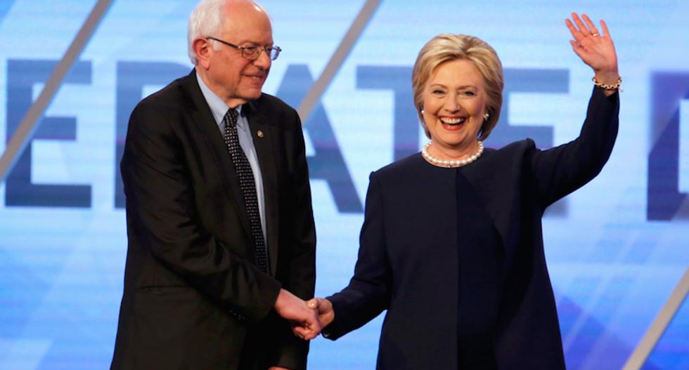 Clinton, Sanders to work on progressive agenda to defeat 'dangerous' Trump