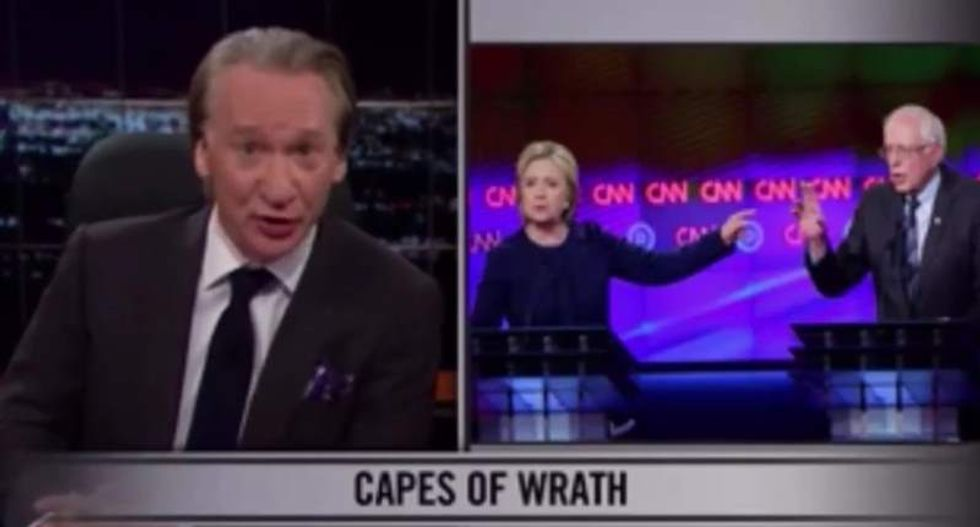 Bill Maher: Clinton and Sanders fans' attacks on one another 'is gonna be the death of liberals'