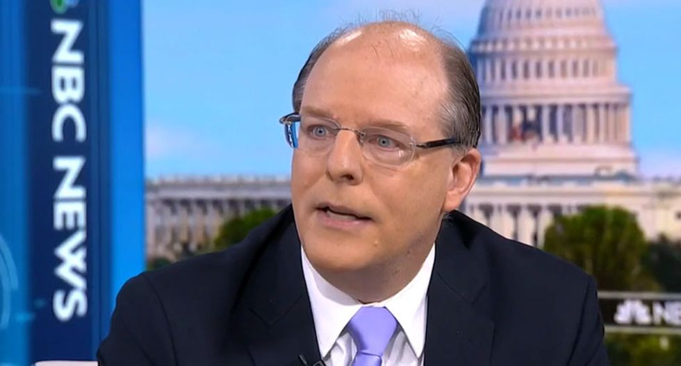 Conservative MSNBC guest destroys the GOP: The party of Lincoln 'has aligned with a moral idiot'