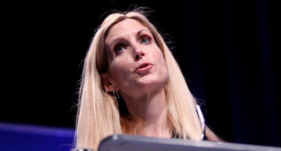 Houston's lesbian ex-mayor hilariously shuts down Ann Coulter tweet blaming her for Hurricane Harvey