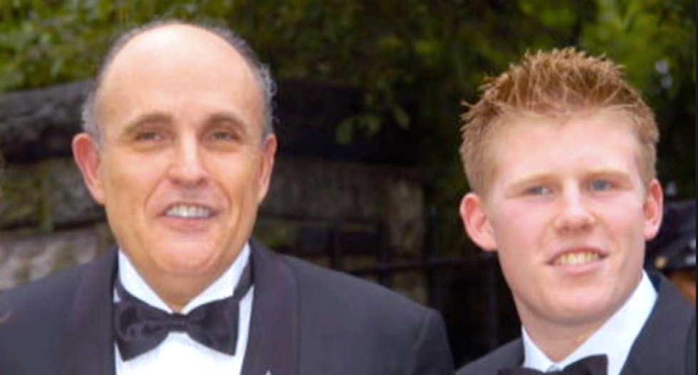 Rudy Giuliani's son discloses positive COVID-19 test one day after attending his father's disastrous news conference