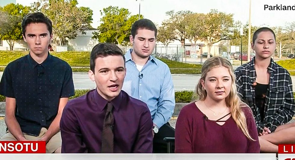 'This is about begging for our lives': Parkland students reveal plan to destroy politicians in bed with NRA