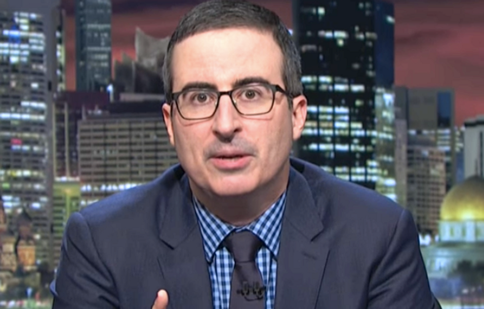 John Oliver: Trump's Iran policy is like 'a scared monkey in a submarine randomly pushing buttons'