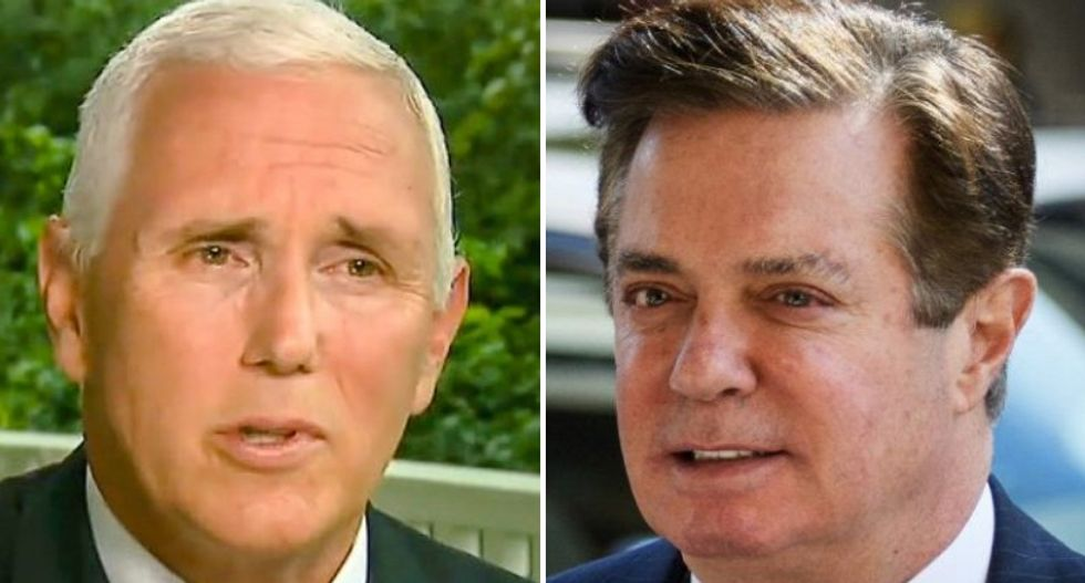 Here's why Mike Pence should be 'sweating' over Paul Manafort's guilty plea
