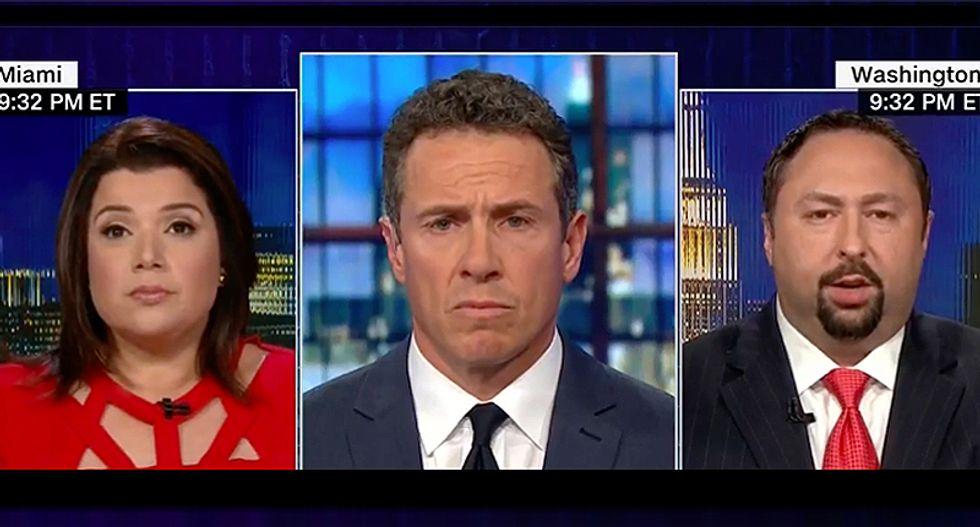 CNN's Ana Navarro slams former aide Jason Miller for defending Trump: 'Republicans are cowards'