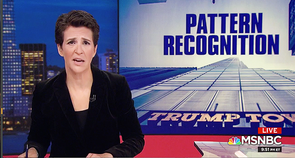 Maddow reveals ways in which the Saudis and UAE may have worked to help Trump's 2016 election