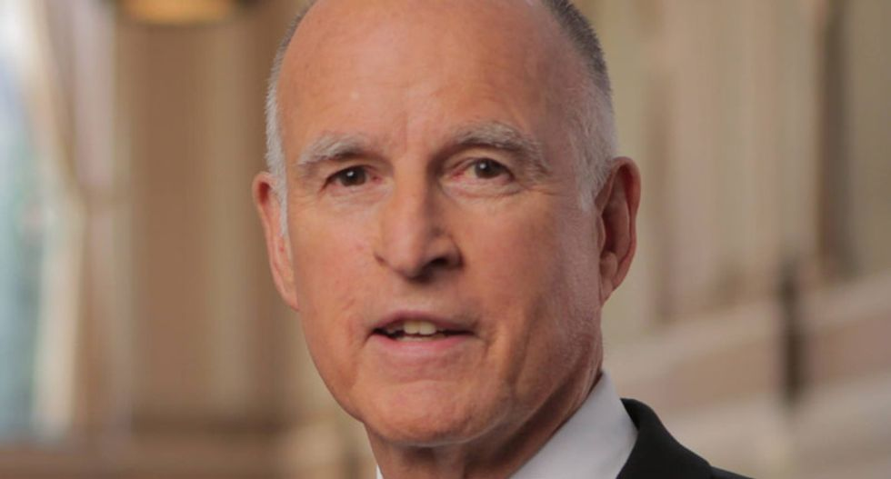 Gov. Jerry Brown: If Trump wins, 'we'd have to build a wall around California'