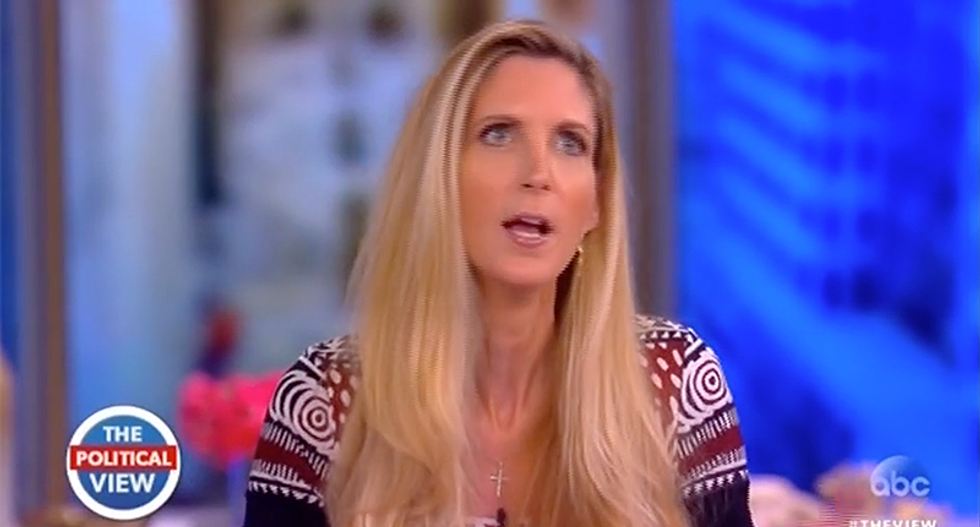 Ann Coulter fantasizes that 'everyone on the NYT editorial board will die' as a result of Trump