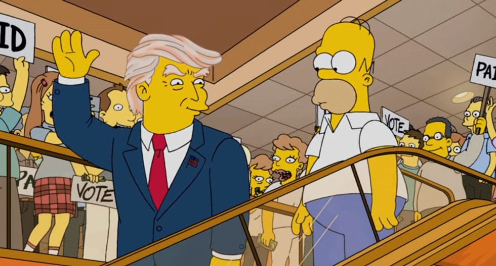 How 'The Simpsons' is going to ridicule Trump University — with Mr. Burns' for-profit college scam