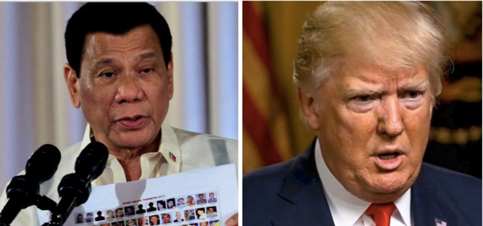 Philippines government denies White House claim that Trump brought up human rights abuses