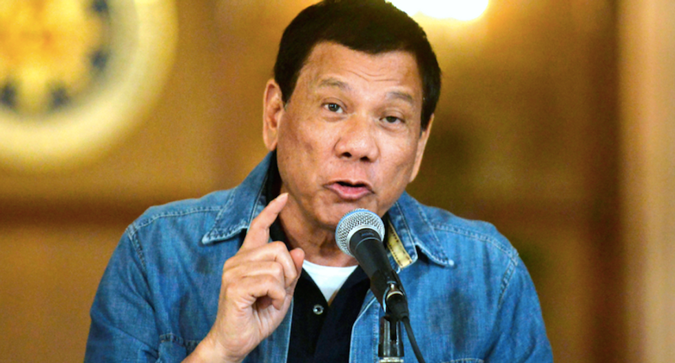 Philippines' Duterte says son will be killed if involved in drugs